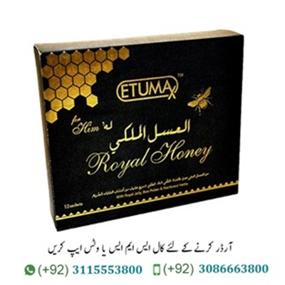 Etumax Royal Honey In Pakistan Etumax Royal Honey In Pakistan (Etumax Royal Honey) is created on the basis of the simple idea that organic ingredients are safer and more beneficial for the body. Therefore, the tool contains only natural ingredients of plant origin. Etumax Royal Honey improves metabolism, stimulates general metabolism, builds muscle mass, improves memory and brain activity, increases efficiency. It is an excellent natural source of energy for the body. The causative agent of Etumax Royal Honey For Him can also be taken by women, unlike other similar drugs, Etumax Royal Honey is a unisex product. Original Etumax Royal Honey For Him In Pakistan