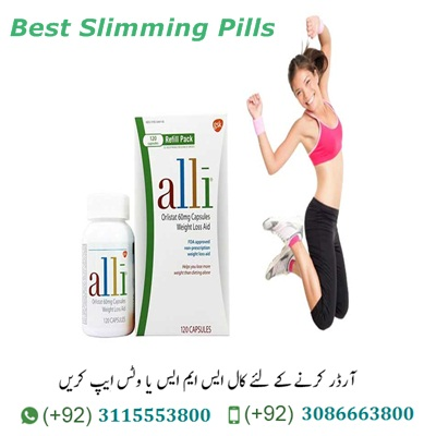 Alli diet pills Price In Pakistan How does Alli diet pills Price In Pakistan work? As mentioned, the Alli diet pills In Pakistan contains the Natural Herbs Orlistat. The Alli diet pill is a so-called lipase inhibitor. It works by inhibiting the absorption of fat from the intestine. The fat that is not absorbed is excreted with the stool. It is usually recommended that you take an Alli diet pill 2 times a day for the 2 main meals. Do not use Asli Alli diet Capsules for more than a maximum of 6 months. Alli weight loss Capsules | How effective is Alli diet pills in relation to weight loss? Alli or Orlistat Capsules is a fairly well-researched herbal product, and the overall picture taken is primarily positive. The number of people with clinically significant weight loss was also greater in the Orlistat group than in the placebo group. This is not a completely irrelevant discovery as weight loss is not just weight loss.However, the overall conclusion is that the Alli diet pill will give rise to a smaller weight loss of about 3%. A specialist gathering of botanists, homeopaths, naturopaths and medication masters have gotten together to make this thing a ground-breaking accomplishment. With viable absorption, at the same time, Allie Diet Pills in Pakistan supports adjusted sugar levels for better craving and adjusted mind-set that supports the general wellbeing. Since it works incredibly well as a long as a program it is every now and again used as post weight diminish program bolster which causes clients to keep up that the sound load for dependable. The long-term effect of Alli diet Tablets | Alli weight loss Capsules In Pakistan Alli side effects? Side effects of diet pills Alli Alli is a weight loss pill marketed by GlaxoSmithKline. It contains the active ingredient orlistat. That works by lowering the amount of fat your body absorbs from your food. It should be used as part of a wider weight loss program. Which also includes a healthy, balanced, low-calorie diet and, not least, physical activity. The active ingredient in Alli is orlistat, which works in the stomach by lowering the amount of fat absorbed from our food. Fat intake is reduced by approx. The fat that is not absorbed in the stomach is sent out with the stool instead. The manufacturer behind Alli says that for every 10kg weight loss In A Month. Allie Diet Pills in Multan does this by ensuring the bioaccessibility and changes the extensive number of fixings through the condition of craft of the home grown extraction procedure. Allie Diet Pills pills in Lahore appreciates that the best possible and adjusted capacity of crucial organs in the body that are instrumental in growing digestion, controlling weight, and vitality use with the objective that one can work appropriately. It uses the possibility of customary answers for supporting the working of the stomach related framework, the liver working just as the digestion Allie Diet Pills pills in Karachi are the thing that aides in the strong breakdown of dietary fat which aides in turning adjusted weight and body type.