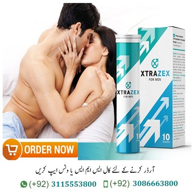 Xtrazex Price In Pakistan Xtrazex Price In Pakistan Dream of a strong Ereli, prodoljitelnost sex and extraordinary orgasm? It will definitely help this Xtrazex for power. All your problems will be left with these effervescent tablets, in which – only natural EM components. Manufacturers ensure that close contact will increase to 4 hours and durability and libido will be as in your youth. Sexologists and urologists recommend treatment, recovery and prevention. The supplement does not cause EM worry about internal organs health and general condition, has no side effects and allergies. Customer Reviews just a very good one. Xtrazex Price In Pakistan. What is Xtrazex for Power | Xtrazex Price In Pakistan Original Xtrazex Pills For Men In Pakistan |Xtrazex Pills Price In Lahore Xtrazex Power,Xtrazex Price,Xtrazex Buy Now, Xtrazex Where to Buy, Xtrazex Comments, Xtrazex Over the last decades,Xtrazex due to poor environment and daily power stress has decreased in most men after the age of 30-35. But everyone who does the energy, who is satisfied. Xtrazex Pills Price In Pakistan Already suffering from intermittency in bed, causing fear and re-ochechki. Lost youth passion, libido and stimulation decreased. Sex gives me no pleasure and has already become a routine of family relationships. Weak erection evolved into a phobia, you can not satisfy your partner. What is Xtrazex for Power