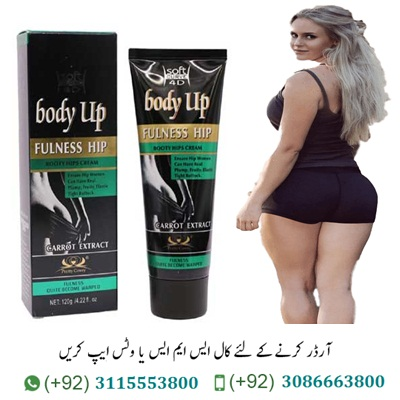 Hip Lift Up Cream In Pakistan Hip Lift Up Cream In Pakistan is specially designed for areas subject to sagging skin (inner surface of hands and thighs). It has a pronounced tightening and strengthening effect. The intensive formula of the preparation. Hip Lift Up Cream when applied to the skin, deeply moisturizes the epidermis, normalizes the water-lipid balance and has an immediate tightening effect. Brown algae extract and plant extracts protect cells from premature aging caused by free radical activity. Regular use of Hip Lift Up restores skin elasticity, significantly improves the appearance of hands and hips. Act: Hip Lift Up Cream Price In Pakistan 1-Firming action. Strengthens epidermal cells, increases their resistance to negative external factors. 2-Lifting effect. It visibly tightens sagging skin, reduces the number of folds and improves the microrelief. 3-Intensive hydration. Intensively restores moisture in dehydrated skin. 4-Skin regeneration. Intensively restores epithelial tissue, promotes the renewal of skin cells. 5-Restore water balance. Normalizes the hydrolipidic balance in tissues and reduces moisture loss by the upper layers of the skin. Item Type: Hip Up Cream Application: Gently massage on the buttocks from dawn to morning in the morning and at night.  Ingredients: Tetra Sodiun edta, Carbomer, triethanolamine, stearic acid, mineral oil, sorbitan stearate, Polysorbate, propyl paraben, methyl paraben, demineral water, perfume.