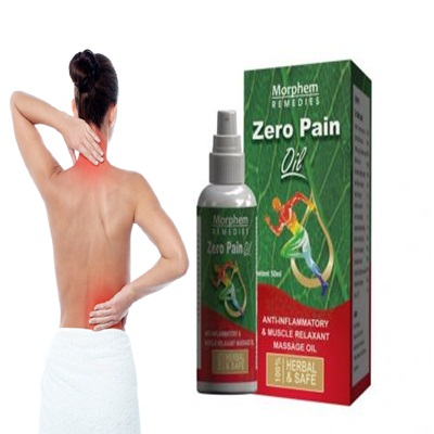Zero Pain Spray In Pakistan Original Zero Pain Spray In Pakistan is a highly effective Ayurveda product for external use. Zero Pain oil pronounced analgesic and anti-inflammatory effect. It Restores joint mobility, relaxes muscles, relieves swelling. Morphem Zero Pain Spray \ Zero Pain oil \ zero pain gold spray Morphem Zero pain Oil copes with the discomfort associated with morning stiffness and swelling in the joints. Asli Zero pain gold spray Relieves pain in the knee joints, back, lower back, as well as dislocations and sprains of tendons, sciatica, arthritis, cervical spondylosis, gout, osteoporosis, rheumatism. It was noted that the analgesic effect obtained as a result of this agent is quite long-term. Benefits Of Using Zero Pain Spray 1-Sustaining knead oil is a mix of relieving fundamental oils in a nutrient rich base to leave your body and mind. 2-Oil  normally assists with mending a throbbing painfulness without pills or tablets. 3-It is a more advantageous option for the regular hurts each one encounters. 4-OIL is made utilizing unadulterated fundamental oils.