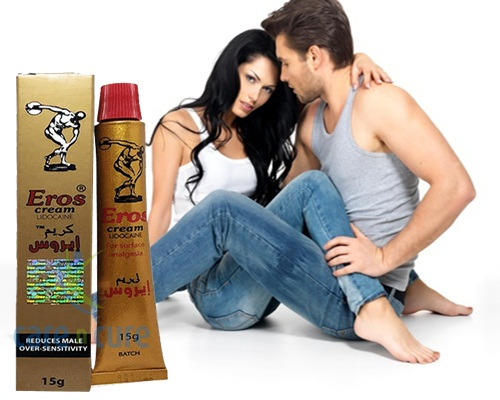 Eros Cream Lidocaine Price in Pakistan Best Delay Eros Cream Lidocaine Price in Pakistan desensitizes the Penis when apply it to the head and inside couple of moments of being applied. When utilized you can have intercourse for up to multiple times longer than already. Eros Cream Lidocaine Known as your capacity to continue to go longer and fulfill your fortunate woman, giving her different climaxes. Untimely discharge is a typical condition that influences millions (75 percent) of men all at once or another. Eros Cream Lidocaine Price in Pakistan RS/=1499.
